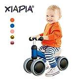 XIAPIA Bicicletta Senza Pedali 1 Anno, Bici per Bambini 1-2 Anni (10-24 Mesi), Camminatore dei Bambini,Bicicletta Equilibrio Giocattoli per per 1 Anno Bambino