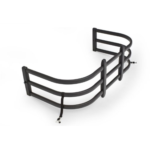 AMP Research 74813-01A Black BedXTender HD Max Truck Bed Extender for 2004-2019 Ford F-150 (Excludes 2004 F-150 Heritage), 2005-2008 Lincoln Mark LT, 2007-2019 Toyota Tundra, Standard Bed
