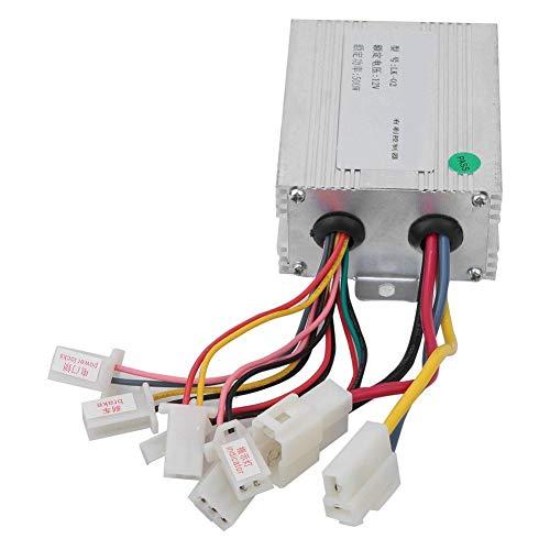 Aluprey 12V 500W eléctrica del regulador del Motor del Motor del Cepillo DC de Control de Velocidad Compatible con Scooter eléctrico Vehículo