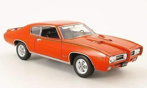 Pontiac GTO, The Judge , 1969, Modellauto, Fertigmodell, Welly 1:24
