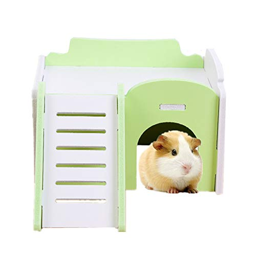Shulishishop jaulas para Hamster Jaula Hamster Ruso Juguetes de Peluche Hámster Cama...