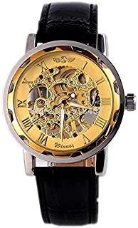 Genius for Men - Analog Leather Band Watch