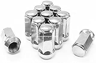 "AVN Motorsports (20 pcs) 12x1.75 Lug Nuts Bulge XL Acorn Chrome ¦ 1.9"" Long ¦ 3/4"" HEX ¦ Most Ford Lincoln Expedition Navigator"