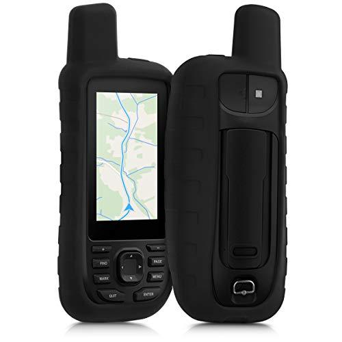 kwmobile Cover in silicone compatibile con Garmin GPSMAP 66s / 66st - Custodia protettiva antiscivolo compatibile con dispositivi GPS di navigazione - Protezione navigatore