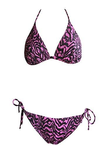 La Perla Oceano by Neckholder-Bikini 012_42 in lila/schwarz, Gr. 42 B-Cup