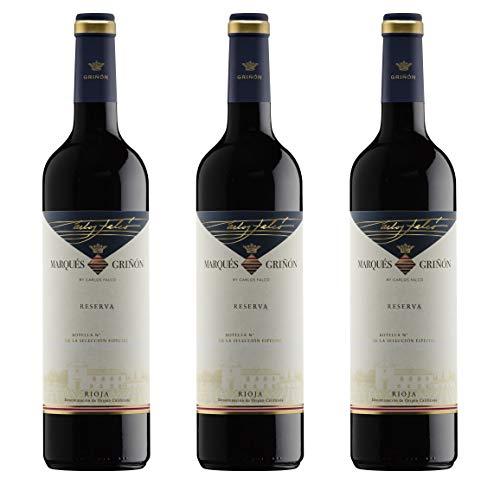 Marqués de Griñón Selecc. Especial Reserva D.O. Rioja Vino tinto - 3 botellas x 750 ml - Total: 2250 ml