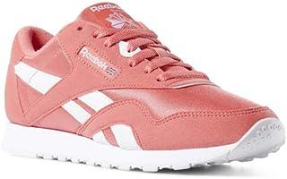 Reebok Classic Nylon Sneaker Bright Rose/White 11 M US