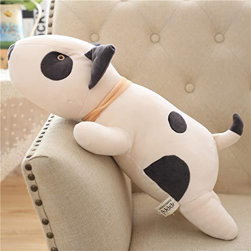 lliang Plüschtier 51cm Bull Dog Plüschtier Kawaii Soft Stuffed Cushion Schöne Hundeform Kissen für Kinder Geburtstagsgeschenk Stofftiere
