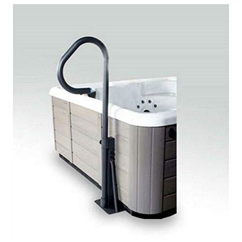 Essentials côté Spa encastrable main courante avec éclairage LED–Barre de Sécurité pour spa et jacuzzi