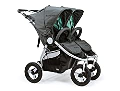 CONVENIENT – This lightweight sport stroller features a one-step fold with a gear-assisted auto-locking hinge. Dual car seat and bassinet compatible, and with easy stow pockets, this special all weather pro jogger is all you'll need from newborn to t...