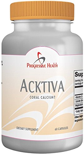 Coral Calcium with Magnesium and Vitamin D - Acktiva Coral Calcium Supplement Can Help You Feel Great by Getting Rid of Aches and Pains