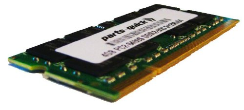 4GB Memory Upgrade for HP Pavilion DV5-1002NR DDR2 PC2-6400 800MHz SODIMM RAM (PARTS-QUICK Brand)