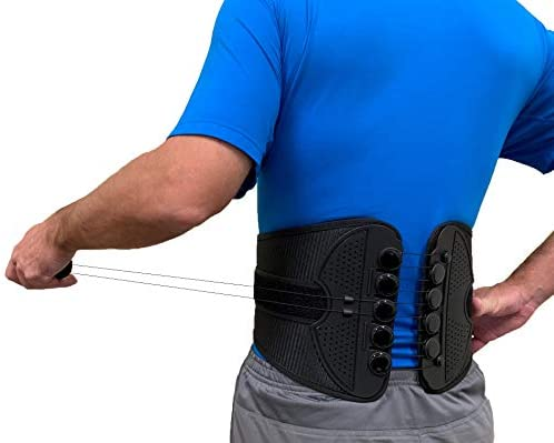 Superior Braces Universal Fitted Back Brace for Lower Back Pain with Adjustable Compression product image