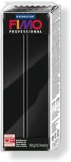comprar comparacion Staedtler 8001-9. Pasta para modelar Fimo Professional, color negro. Caja con una pastilla de 350 g.
