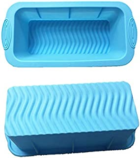 SOHAPY Silicone Bread Loaf Pan Baking Mould Non-Stick BPA-free Bakeware Bread and Meat Loaf Pan for Homemade Cakes Breads ...