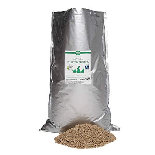 Small Pet Select All Natural Pellet Bedding, Brown, 40 Lb