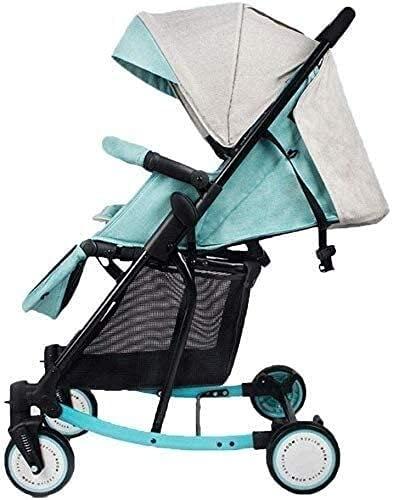 YQLWX Baby Carriage Hot Mom SHITCHCHAIR - 2 en 1 Cochecito Ligero - Cochecito de Viaje Compacto - una Mano Plegable - arnés de Cinco Puntos - Ideal para avión (Color (Color : F)