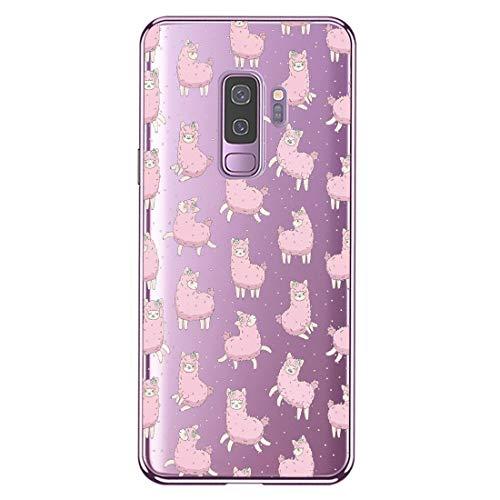 Compatibel met de Samsung Galaxy S9, siliconen, transparant, ultradun, flexibel TPU, kristalhelder, doorzichtig, beschermhoes, slim case, cover, bumper, telefoonhoes voor Samsung S9.