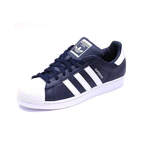 Adidas - Adidas Originals Superstar Sportschuhe Blau - Blau, 36