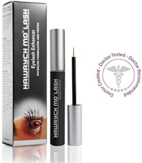 HAWRYCH MD Lash Boost Eyelash Enhancing Serum - Eyelash Enhancer for Longer Lashes Thicker Lashes and Fuller Lashes - Natural Lash Conditioner and Eyelash Booster - Eyelashes Beauty Product - 2 ML