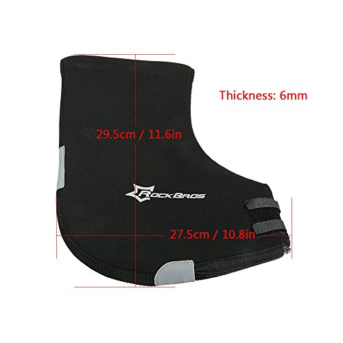 Docooler 1 Paar Lenkerhandschuhe/Radsport Handschuhe/Fahrrad Lenker Handschuhe Handwärmer Handabdeckungen Für MTB/Motor/Fahrrad, Dicke: 6mm/Wasserabweisendes Material - 6