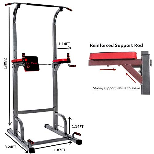 Lx Free Power Tower Home Gym Adjustable