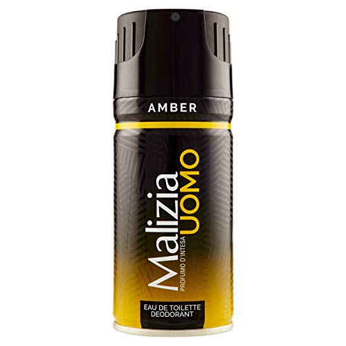 Malizia Deo Spray Uomo Amber Ml.150