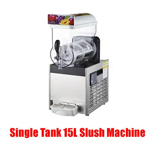 Best Review Of Single Tank 15L Frozen Drink Slush Slushy Making Machine Smoothie Maker