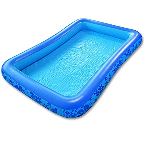 Bedspread Piscina Inflable, Piscina Inflable Cojín de Aire espesante para el hogar Piscina de Pesca Inflable Piscina para niños Bañera Familiar para Adultos