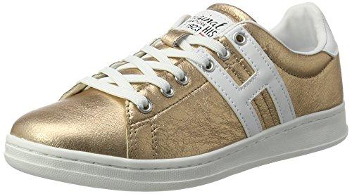 H.I.S Damen 16MCB002 Sneakers, Gold (Bronce/White), 39 EU