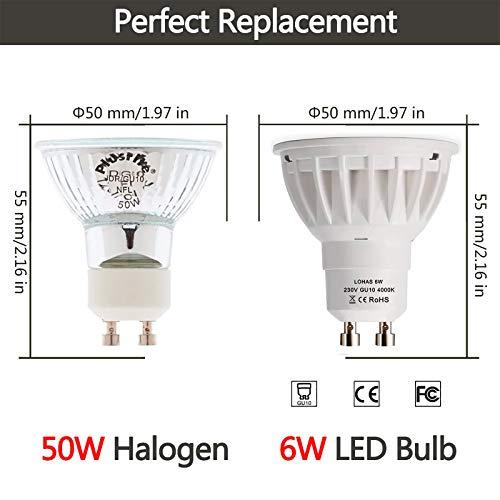 LOHAS-LED ELH-GU10-150-6000K-10