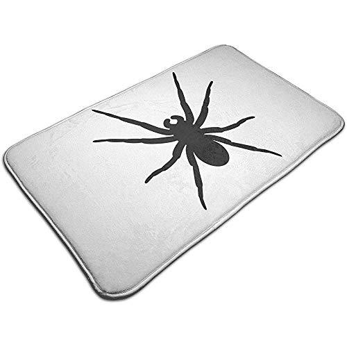 Liumt Spider Silhouette deurmat decoratieve antislip badmat 40cm * 60cm