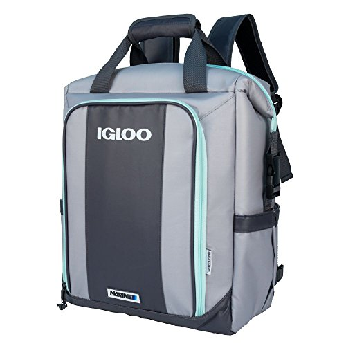 Igloo 00062901 Switch Marine Backpack-Gray/Seafoam, Grey