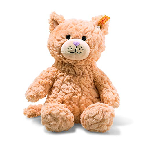 Steiff 99199 Soft Cuddly Friends Whiskers Katze, apricot