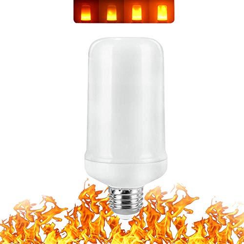 6 Stück 3W 5W 7W 9W E27 E14 Flammenlampe 85-265V LED Flammeffekt Glühbirnen Flackernde Emulation Dekor LED Lampe-9W_Big_E27