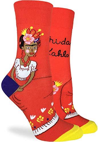 NA Calcetines de Frida Kahlo para mujer - Rojo, talla de calzado...