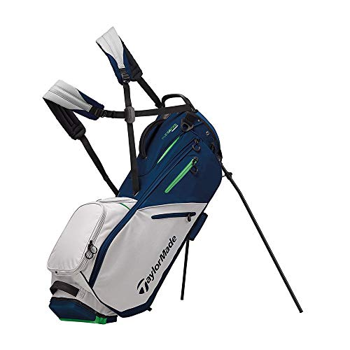 TaylorMade 2019 Flextech Stand Golf Bag, Navy/Gray