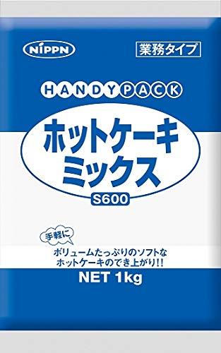 NIPPN ホットケーキミックス S600 1kg