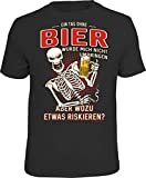 Männer Geschenk Bier Party T-Shirt  EIN Tag ohne