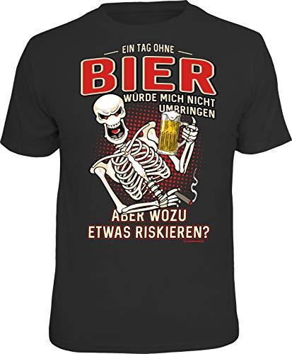 Männer Geschenk Bier Party T-Shirt: EIN Tag ohne Bier würde Mich Nicht umbringen