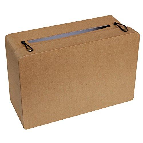 Santex Urna a forma di valigia kraft Taglia Unica