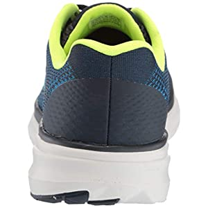 Skechers Men's Pure Sneaker, Blue/Lime, 9.5 M US