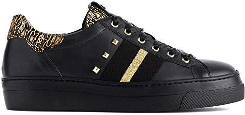 Nero Giardini A909161D Sneakers Donna Nero e Oro 37