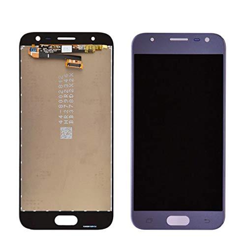 Pantallas LCD para teléfonos móviles Pantalla LCD Montaje digitalizador de Pantalla táctil/Ajuste para Samsung Galaxy J3 2017 J330 J330F / DS J330G / DS J3 2017 Dual SIM (Color : Blue)