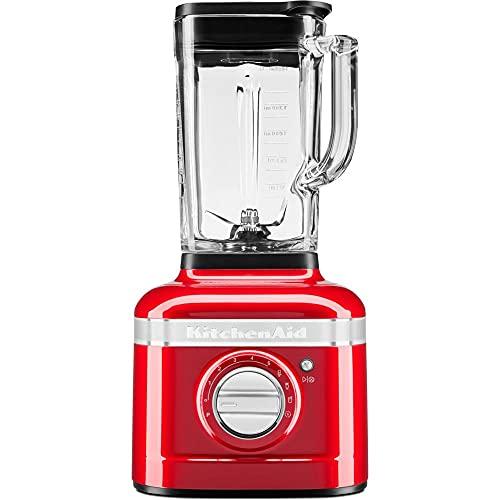 KitchenAid 5KSB4026 Artisan K400 - Batidora de vaso (1200 W, 1,4 L), color rojo