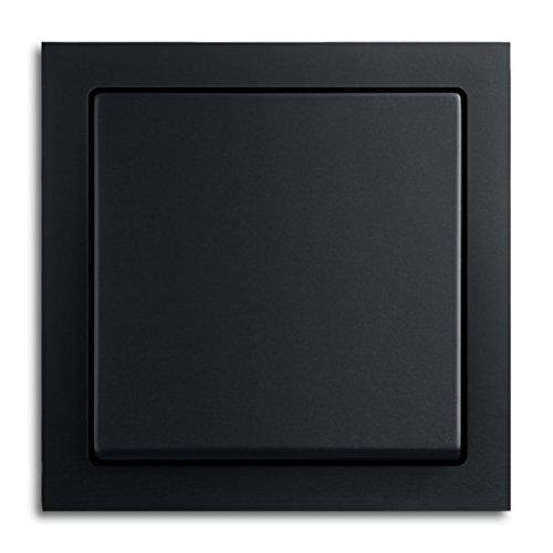 BUSCH-JAEGER Komplett-Sets future® linear Anthrazit glänzend (1x Wechselschalter, 1x Rahmen 1fach, 1x Wippe)