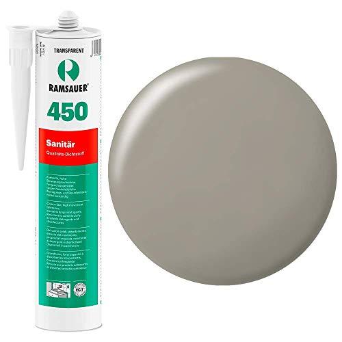 Ramsauer 450 1K Silikon Dichtstoff 310ml Kartusche (Sandgrau)