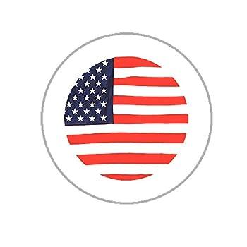 American Flag Envelope Seals - 1.2  Circle Stickers - 144 America USA Circle Stickers  Flag