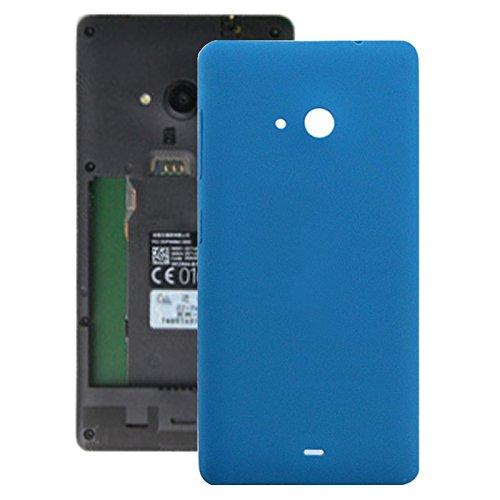 O-OBDO - Cover posteriore della batteria per Microsoft Lumia 535 (nero) (colore: blu)