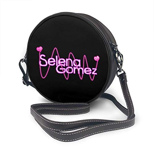 Yuanmeiju Bolso de hombro redondo Selena Gomez 3 Round Single Shoulder Bag